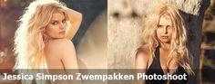 Jessica Simpson Zwempakken Photoshoot
