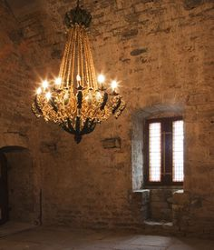 Bedarieux Apartment Rentals in France | 2 Bedroom Apartment Within Rare Historic Chateau (L'appartement des Seigneurs) #france #rustic #chandelier #chateau