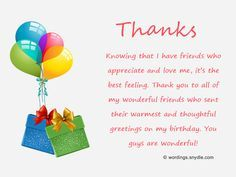 Thank You For Birthday Wishes On Facebook Twitter Instagram Etc Wordings And