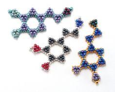 Bead Origami: Serotonin and Dopamine Beaded Molecules