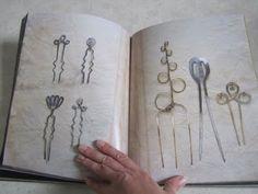 Alexander Calder Hair Combs. Image: Calder Jewelry: Alexander S.C. Rower (Editor), Mark Rosenthal (Contributor), Jane Adlin (Contributor)
