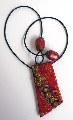 Red Pendant by Pati B. Lovely.