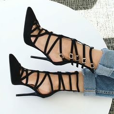 Caged Over Heels
