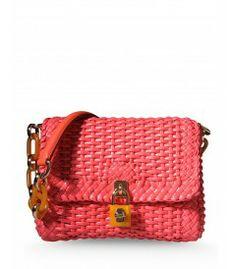 Dolce  Gabbana Woven Shoulder Bag