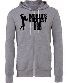 world greatest dad bob Zipper Hoodie