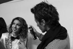 """Dernière retouche coiffure pour la chanteuse TAL qui a remporté le prix de """"Artiste Féminine Francophone de l'Année"""" ! Cannes, Music Awards 2014, Nrj Music, Couple Photos, Couples, Artist, Hair Style, Couple Pics, Couple Photography"""