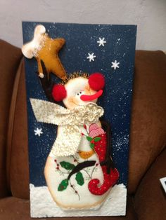 Christmas Crafts For Kids, Christmas Time, Xmas, Christmas Ornaments, Star Quilt Patterns, Star Quilts, Loom Knitting Stitches, Tole Painting, Jack Frost