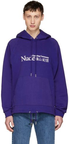 Opening Ceremony Purple Shinoyama Edition I Hoodie