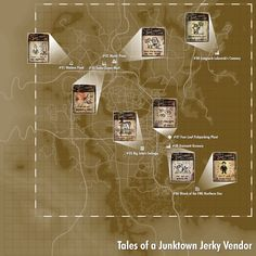 Tales of a Junktown Jerky Vendor (Fallout Fallout 4 Secrets, Fallout Tips, Fallout Facts, Fallout Game, Fallout New Vegas, Fallout Perks, Fallout Vault, Fallout 4 Weapons, Fallout Comics