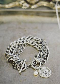 petite family crest bracelet | Lisa Leonard Designs-for Sandy for anniversary