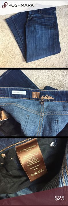 Nordstrom Ankle Capris Good used condition, fabulous pair of jeans! These may be full length or capri depending on your height. Great buy!  Waist/hip: 17 (34 around), length: 33.5 (hip to hem) Kut from the Kloth Jeans Ankle & Cropped