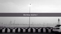 #mumbai #skyline #blackandwhite #buildings #travel #monsoon #beautiful