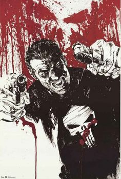 An awesome concept art poster of Frank Castle, a.k.a. The Punisher from Marvel Comics! Fully licensed - 2012. Ships fast. 22x34 inches. Need Poster Mounts..? su5879 td5879