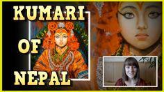 Kumari, the living goddess of Nepal ★ Witty Smithey