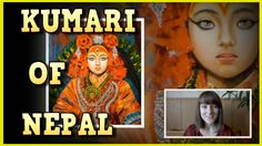 Kumari, the living goddess of Nepal ★ Witty Smithey
