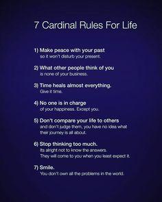 Rules for life #motivationalquote #learning #advice by Ed Zimbardi http://edzimbardi.com