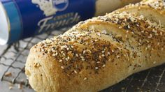 Everything Bagel French Bread #pillsbury