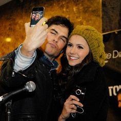 Ian and Nina The Vampire Diaries