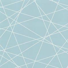 Brewster 2533-20248 Magritte Light Blue Criss Cross Geo Wallpaper