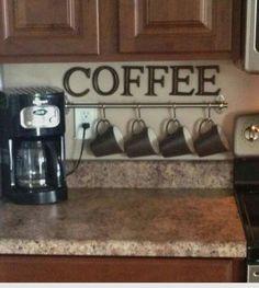 Coffee station, kitchen