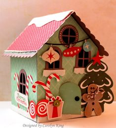 gingerbread houses made out of cardboard | Gingerbread House