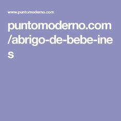 puntomoderno.com/abrigo-de-bebe-ines