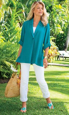 Great elegant look! Create similar at http://mandysheaven.co.uk/ - Women's Fashion Boutique UK - Fashion Over 40    I love the style & color of the jacket!