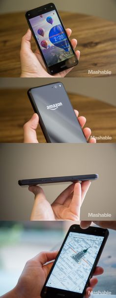 We got our hands on Amazon's Fire Phone and it's packed with cool new features.
