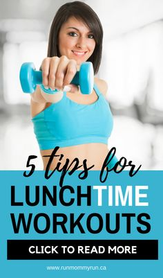 Do you struggle for time to workout? If you are a busy mom struggling to find some time to workout, using your lunch hour to workout might be a great strategy for you! Click to read some times to make that a successful lunch workout #lunch #workout #runch #tips #running
