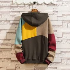 Men hoodies – Page 3 – Benovafashion Moda Hip Hop, Japanese Streetwear, Mens Sweatshirts, Hooded Jacket, Street Wear, Punk Fashion, Lolita Fashion, Fashion Men, Fashion Hoodies