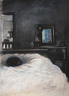 Sleeping Cat by Sarah Wimperis