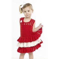 Ruffle Dress for Girls Crochet Ruffle Dress for Girls - This crochet dress pattern by Premier Yarns is the cutest design, ever.Crochet Ruffle Dress for Girls - This crochet dress pattern by Premier Yarns is the cutest design, ever. Crochet Spring Dresses, Crochet Dress Girl, Crochet Ruffle, Crochet Girls, Crochet Baby Clothes, Crochet For Kids, Knit Crochet, Crochet Children, Easy Crochet