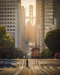 California St, Streets Of San Francisco - San Francisco Feelings