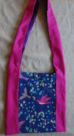Monks Bag - Knitting Crochet Sewing Embroidery Crafts Patterns and Ideas!