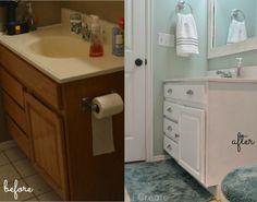 Paint your bathroom a fresh, clean & modern shade.