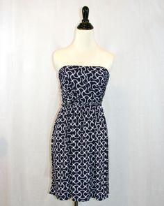 Tart Wave Stripe Dress by Violet Clover