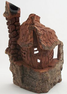 Cottonwood Bark Cottage, hollowed-out