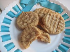 I love peanut butter cookies. I remember my mom making them for me as a child, squishing them down with a fork. I love them at Christmas, when you squish a Hershey's Kiss on top. This recipe is my favorite for peanut butter cookies. And they are so easy! There are only three ingredients: 1 …