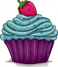 Cupcake Illustrations and Clipart. Cupcake royalty free illustrations, and drawings available to search from thousands of stock vector EPS clip art graphic designers. Cupcake Kunst, Cupcake Art, Cupcake Illustration, Cupcake Pictures, Cupcake Images, Cupcake Clipart, Cupcakes Wallpaper, Cupcake Drawing, Food Drawing
