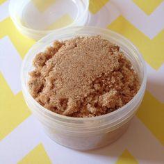 Vanilla Pumpkin Scrub Sugar Scrub Bath Scrub by LoveBirdsSoaps