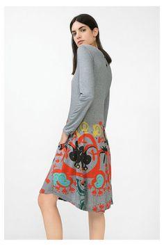 Dark gray dress | Desigual.com H