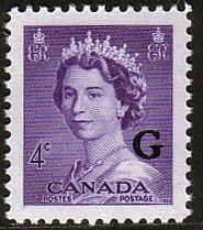 Canada 1953 SG O199 Official Overprint G Fine Mint                    SG O199 Scott O36    Condition Fine MNH          Only one post charge applied