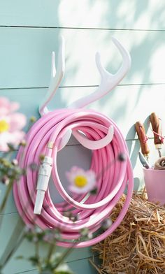 Antler Hose Holder ♥ SO cUte!