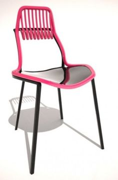 Fauchon Chair by French Designer Mahdi Naim