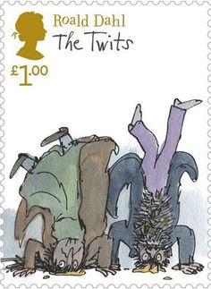 Roald Dahl £1 Stamp (2012) The Twits