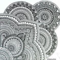 from @teena.kris - Old drawing ~ Hello everybody ! I changed my name to Teena Kris and am no longer tina_chris210. Have a great day :) . . #art #artwork #drawing #mandala #artist_sharing #mandalamaze #mandalala #mandala_sharing #arts_gallery #doodlingworld #heymandalas #art_feature #bestartfeatures #mandalaart #featuremyart #mandalalove #mandaladesign #design #detailed #mandaladrawing #passionformandalas #passion #black #bicpen #ballpen #doodle #creative #tattoo #tattoodesign #symetry