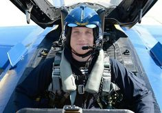 AJ Hawk flies yesterday (5/28/14) with the  U.S. Navy Blue Angels in La Crosse, WI. -PackersNews