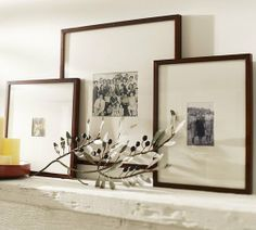 Bedroom: Create a Gallery Wall: Dress up bare walls and show off your favorite photos using these Pottery Barn frames ($55 – $71, originally $69-$89) — perfect for creating a gallery wall and an affordable focal point.