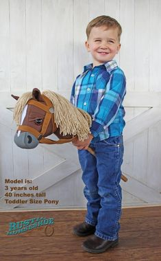 Small Stick Horse Hobby Horse Mustang Collection | Etsy