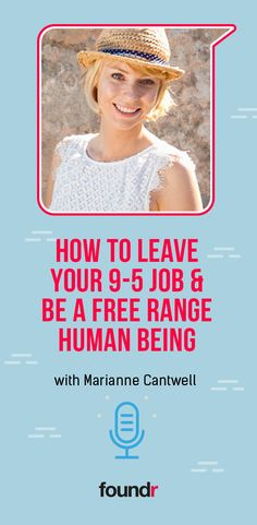 Ever wondered how you ended up working the job you're doing? learn from Marianne Cantwell - How to Leave Your Job & be a Free Range Human Being Online Entrepreneur, Business Entrepreneur, Business Coaching, Blog Online, Online Work, Online Earning, Earn Money Online, Life Changing Books, Email Subject Lines